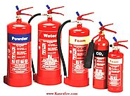 Fire Extinguisher Manufacturer and Types of Extinguishers