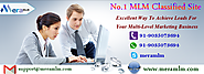 MLM Classified- Effective Tool To Promoting MLM Business Via Online Way