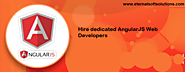 Hire dedicated AngularJS Web Developers in India - Eternal Web