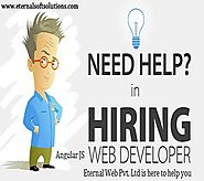 Hiring AngularJS Developers from Eternal web | Offshore AngularJS developer India