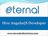 Hire AngularJS Developer in India at Eternal Web