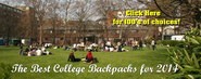 Best College Backpacks 2014