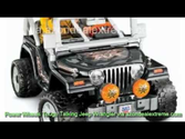 Things You NEED to Know about about Power Wheels Tough Talking Jeep Wrangler