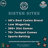 Sites like Grosvenor Casino – Low wagering, huge Jackpots & sports betting.