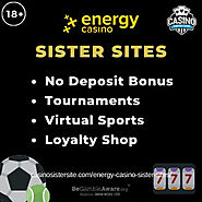 Sites like Energy casino – Top sites with similar games, free spins & rewards.