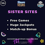 Sites like Dream Vegas – 5 site with free games & community Jackpots.