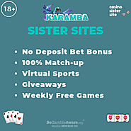 Sites like Karamba – Up to 100 free spins + similar slots & jackpots.