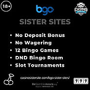Sites like BGO - 5 sites with free spins, rewards & Jackpots.