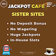 Sites like Jackpot Cafe – Casinos with no deposit bonus & no wagering.