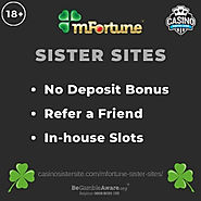 Sites like mFortune casino – No deposit bonuses, refer a friend and In-house slots.