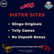 Sites like Slingo Casino – No deposit bonuses, Slingo Originals & Telly Games