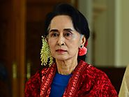 Nobel Peace Prize Laureate Aung San Suu Kyi denies ethnic cleansing of Rohingya Muslims in Myanmar