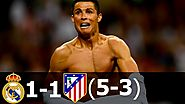 Real Madrid vs Atletico Madrid 1-1 (5-3 pen.) (UCL Final) 2016