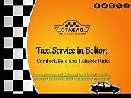 Book a Safe & Reliable Taxi in Bolton: GTA Cab