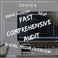 Fast comprehensive audit - evaluation of brand,website and activities in social media. - How to be Visible?