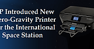 HP Introduced New Zero-Gravity Printer for the International Space Station