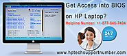 How to Get Access into BIOS on HP Laptop?