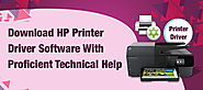 Download HP Printer Driver Software With Proficient Technical Help