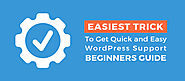 Easiest Trick To Get Quick and Easy WordPress Support- Beginners Guide