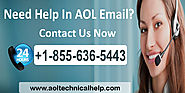 How to Contact AOL 1-855-636-5443 Support Phone Number
