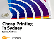 Get Cheap Printing in Sydney - Beautify Your Business Motives