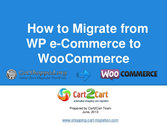 How to Migrate from WP e-Commerce to WooCommerce