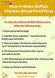 How to Make Buffalo Chicken Wood Fired Pizza