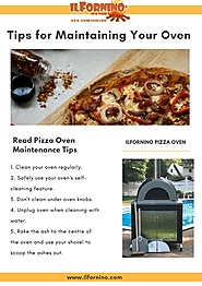Tips for Maintaining Wood Fired Pizza Oven