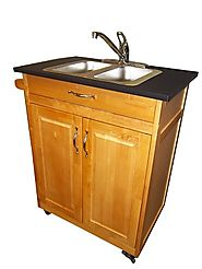 Double Compartment Self Contained Portable Sink Model: PSW-009D