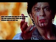 Best Dialogues of Shahrukh Khan
