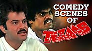 Funniest Scenes of Anil Kapoor & Johnny Lever | Tezaab