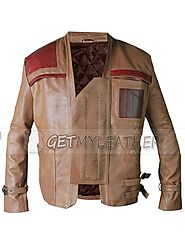 Find amazing quality Smart Star Wars The Force Awakens Finn John Boyega Leather Jacket