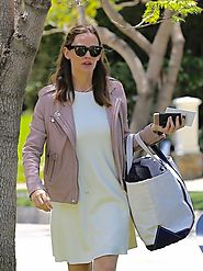 Mother's Day Jennifer Garner Leather Jacket.