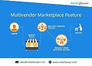 Which E-commerce platform set up a multi-vendor marketplace?