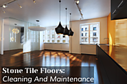 Stone Tile Floors: Cleaning And Maintenance