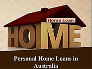 Personal home loans in australia