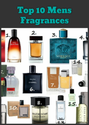 Top 10 Mens Fragrances