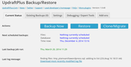 "WordPress › UpdraftPlus Backup and Restoration "" WordPress Plugins"