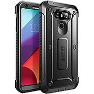 LG G6 Case, SUPCASE Full-body Rugged Holster Case with Built-in Screen Protector for LG G6 2017 Release, Unicorn Beet...