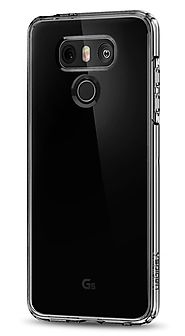 Spigen Ultra Hybrid LG G6 Case with Air Cushion Technology and Hybrid Drop Protection