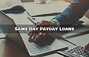 Same Day Payday Loans- Acquire Cash Instantly for Emergency Needs
