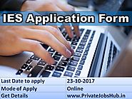 IES Application Form