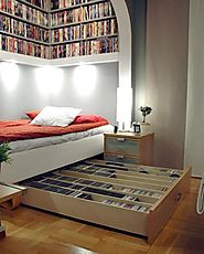 Bed for book lovers