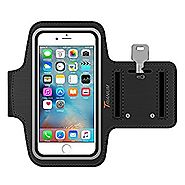 Trianium Armband For iPhone 7/6/6S Plus, LG G6 G5, Galaxy s8 s7 s6 Edge, Note 5 (fits Otterbox Defender / Lifeproof c...