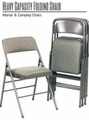 Heavy Capacity Folding Chair: Interior & Camping Chairs