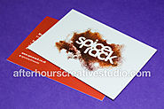 Foil Blocked Matt Laminated Business Cards on 450gsm