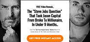 #1 Millionaire Switch & The Steve Jobs Question [Free Video]