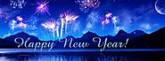 Happy New Year Banners 2018 - Happy New Year Banner Background Images 2018
