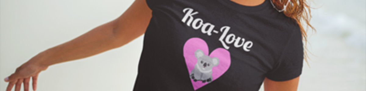 Headline for Best Cute Funny Koala T Shirts | Womens and Kids Sizes