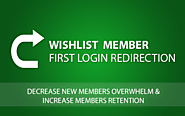 Wishlist First Login Redirection